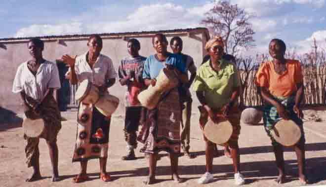 Wagog Women Drummers