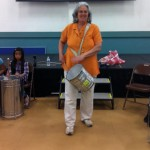 Carolyn Brandy at Guy Emanuele Elementary School in Union City